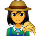 Woman Farmer on emojidex 1.0.33