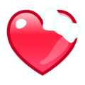 Heart With Ribbon on emojidex 1.0.33