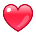 Red Heart on emojidex 1.0.33