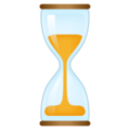 Hourglass With Flowing Sand on emojidex 1.0.33