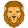 Lion Face on emojidex 1.0.33