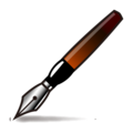 Fountain Pen on emojidex 1.0.33