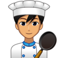 Man Cook: Medium Skin Tone on emojidex 1.0.33