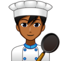 Man Cook: Medium-Dark Skin Tone on emojidex 1.0.33