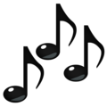 Musical Notes on emojidex 1.0.33