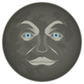 New Moon Face on emojidex 1.0.33
