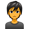 Person Frowning on emojidex 1.0.33