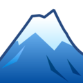 Snow-Capped Mountain on emojidex 1.0.33