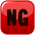 NG Button on emojidex 1.0.33