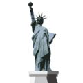 Statue of Liberty on emojidex 1.0.33