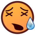 Tired Face on emojidex 1.0.33