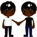 Two Men Holding Hands, Type-6 on emojidex 1.0.33