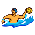 Person Playing Water Polo on emojidex 1.0.33