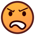 Angry Face on emojidex 1.0.34