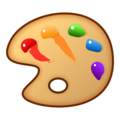 Artist Palette on emojidex 1.0.34