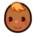 Baby: Medium-Dark Skin Tone on emojidex 1.0.34