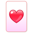 Heart Suit on emojidex 1.0.34