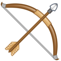 Bow and Arrow on emojidex 1.0.34