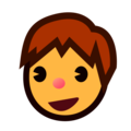 Boy on emojidex 1.0.34