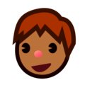 Boy: Medium-Dark Skin Tone on emojidex 1.0.34
