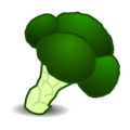 Broccoli on emojidex 1.0.34