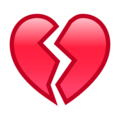 Broken Heart on emojidex 1.0.34