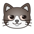 Cat Face With Wry Smile on emojidex 1.0.34