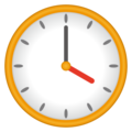 Four O'clock on emojidex 1.0.34
