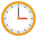 Three O'clock on emojidex 1.0.34