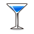 Cocktail Glass on emojidex 1.0.34