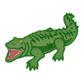 Crocodile on emojidex 1.0.34