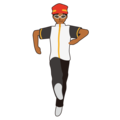Woman Dancing: Medium-Dark Skin Tone on emojidex 1.0.34