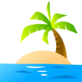 Desert Island on emojidex 1.0.34