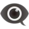 Eye in Speech Bubble on emojidex 1.0.34