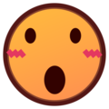 Face With Open Mouth on emojidex 1.0.34