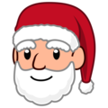 Santa Claus: Medium-Light Skin Tone on emojidex 1.0.34