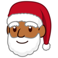 Santa Claus: Medium-Dark Skin Tone on emojidex 1.0.34