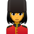 Woman Guard on emojidex 1.0.34