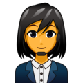 Woman Office Worker on emojidex 1.0.34