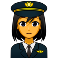 Woman Pilot on emojidex 1.0.34