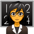 Woman Teacher on emojidex 1.0.34