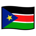 South Sudan on emojidex 1.0.34