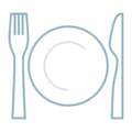 Fork and Knife With Plate on emojidex 1.0.34