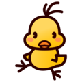Front-Facing Baby Chick on emojidex 1.0.34