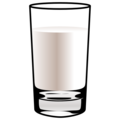 Glass of Milk on emojidex 1.0.34