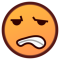 Grimacing Face on emojidex 1.0.34