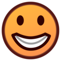 Grinning Face on emojidex 1.0.34