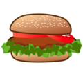 Hamburger on emojidex 1.0.34