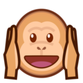 Hear-No-Evil Monkey on emojidex 1.0.34