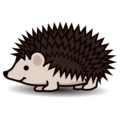 Hedgehog on emojidex 1.0.34